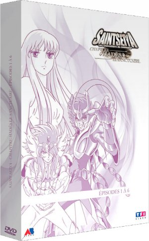 Saint Seiya : OAV - Hades édition Slim box