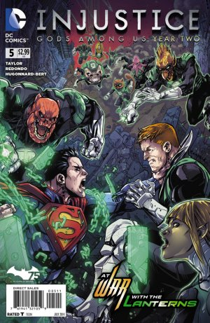 Injustice - Gods Among Us Year two # 5 Issues
