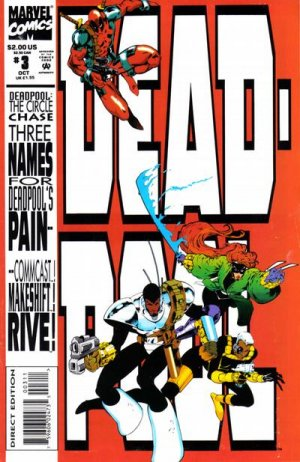 Deadpool - The Circle Chase # 3 Issues