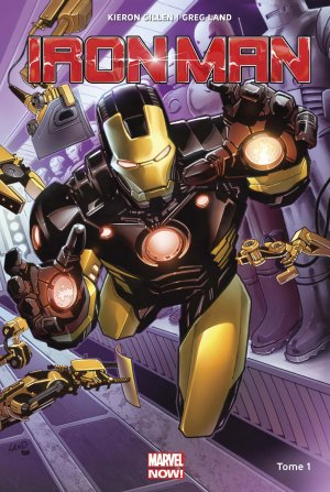 Iron Man édition TPB Hardcover - Marvel Now! - Issues V5
