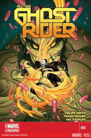 All-New Ghost Rider # 3 Issues (2014 - 2015)