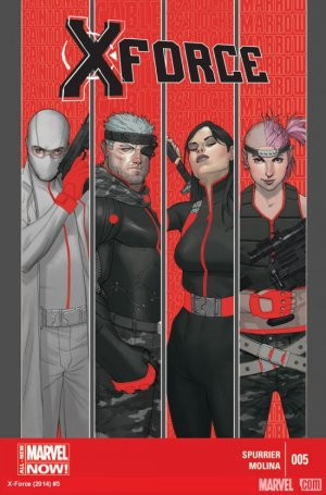 X-Force # 5 Issues V4 (2014 - 2015)