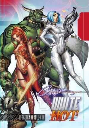 J. Scott Campbell's Artbook - White Hot édition TPB hardcover (cartonnée)