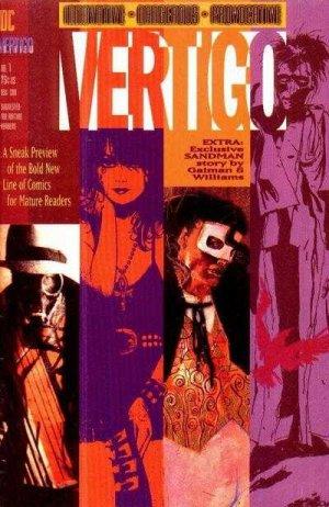 Vertigo Preview édition Issues