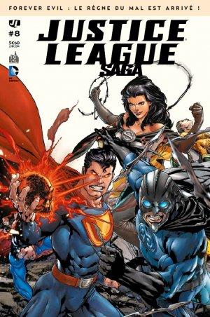 Justice League # 8 Kiosque mensuel