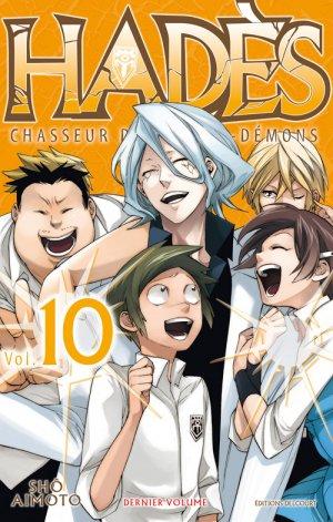 couverture, jaquette Hadès 10  (Delcourt Manga)