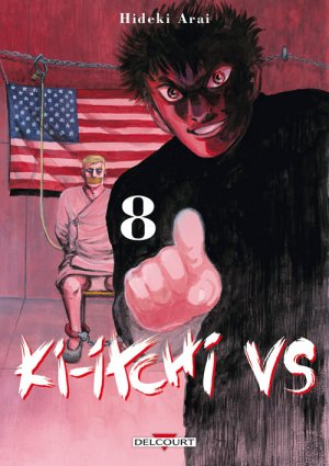 couverture, jaquette Ki-itchi VS 8  (Delcourt Manga)