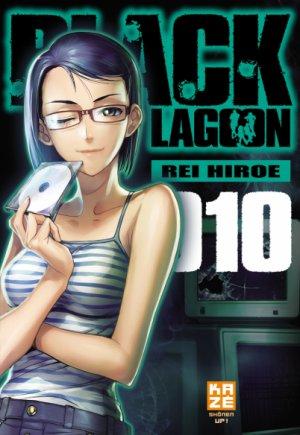couverture, jaquette Black Lagoon 10 Française 2ème Edition (kazé manga)