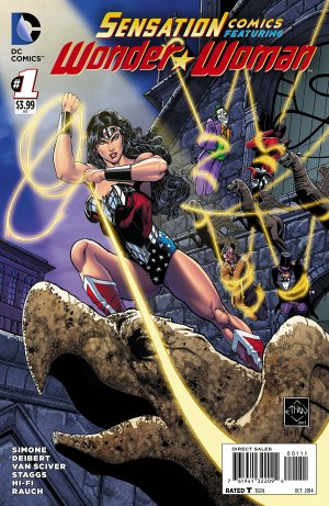 Sensation Comics Featuring Wonder Woman édition Issues V1 (2014 - 2015)