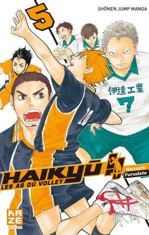 couverture, jaquette Haikyû !! Les as du volley 5  (kazé manga)