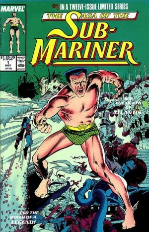 Saga of the Sub-Mariner édition Issues (1988 - 1989)