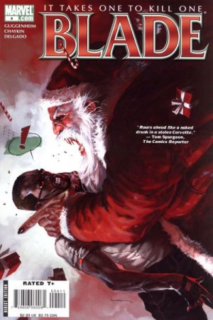 Blade # 4 Issues V4 (2006 - 2007)