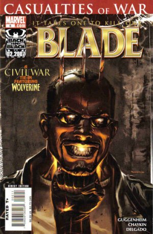 Blade # 5 Issues V4 (2006 - 2007)