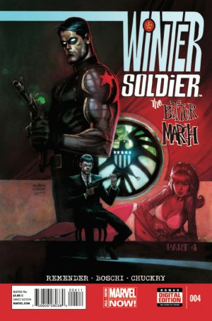 Winter Soldier - The bitter march # 4 Issues