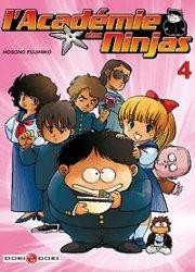 couverture, jaquette L'Académie des Ninjas 4  (Doki-Doki)