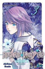 couverture, jaquette Rosario + Vampire - Saison II 3  (Tonkam)
