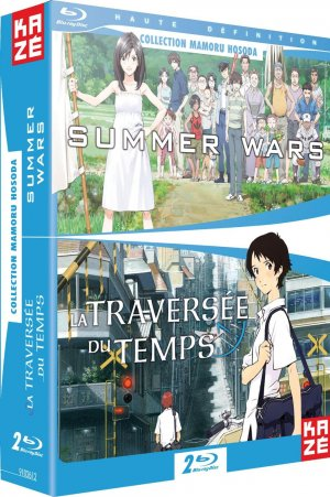 Summer Wars + La traversée du temps édition Blu-ray