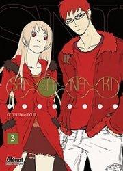 couverture, jaquette Sasanaki 3  (Glénat Manga)