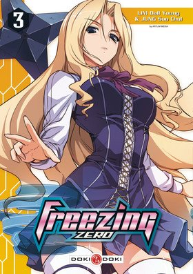 couverture, jaquette Freezing Zero 3  (Doki-Doki)