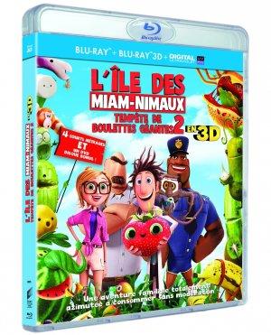L'île des Miam-nimaux : Tempête de boulettes géantes 2 édition Combo