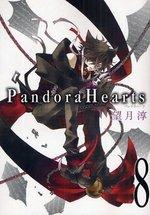 couverture, jaquette Pandora Hearts 8  (Square enix)