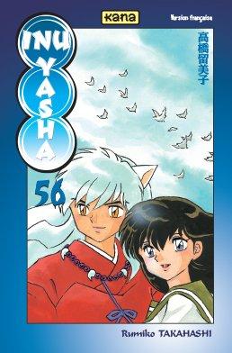 couverture, jaquette Inu Yasha 56  (kana)