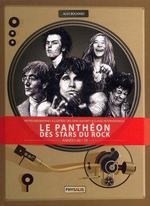 Le panthéon des stars du rock édition Simple