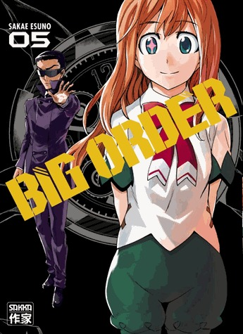 couverture, jaquette Big Order 5  (casterman manga) Manga