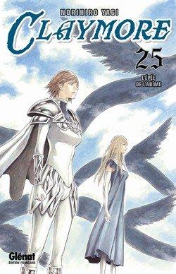 couverture, jaquette Claymore 25  (Glénat Manga) Manga