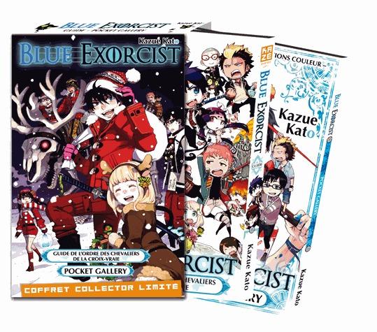 Blue exorcist - Coffret guide + artbook