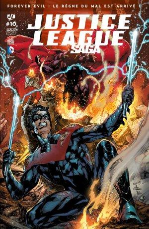 Justice League # 10 Kiosque mensuel