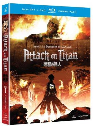 L'attaque des titans édition Combo Blu-ray/DVD Limited Edition