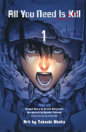 couverture, jaquette All you need is kill 1  (Shueisha) Manga