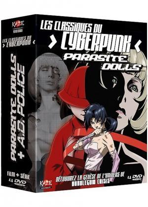 Les Classiques du Cyberpunk : Parasite Dolls + A.D. Police édition Coffret DVD
