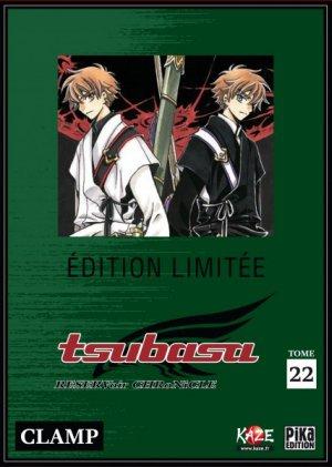 couverture, jaquette Tsubasa Reservoir Chronicle 22 COLLECTOR DVD (Pika) Manga