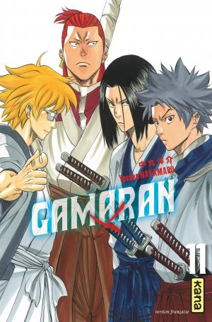 couverture, jaquette Gamaran 11  (kana)