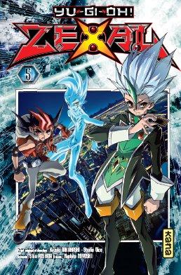 couverture, jaquette Yu-Gi-Oh! Zexal 5  (kana) Manga