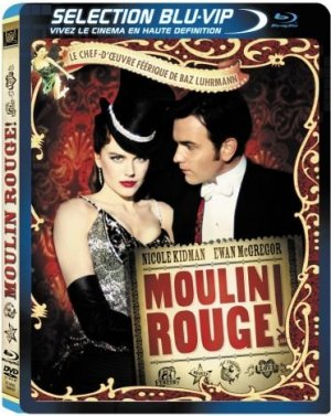 Moulin Rouge ! édition Bluray