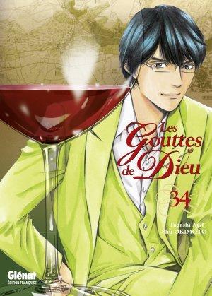couverture, jaquette Les Gouttes de Dieu 34  (Glénat Manga)
