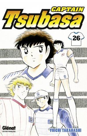 couverture, jaquette Captain Tsubasa 26 Réédition Française (Glénat Manga)
