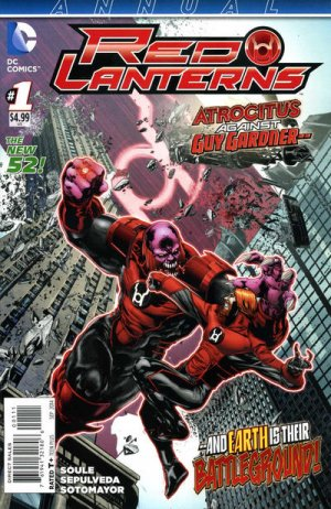 Red Lanterns édition Issues V1 - Annuals (2014)
