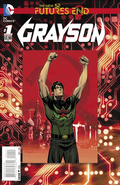 Grayson - Futures End # 1 Issues
