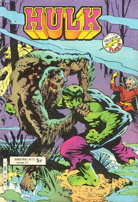 The Incredible Hulk # 17 Kiosque Arédit V1 (1976 - 1983)