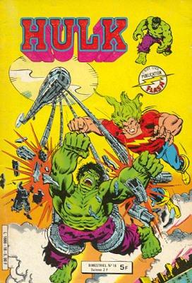 The Incredible Hulk # 18 Kiosque Arédit V1 (1976 - 1983)