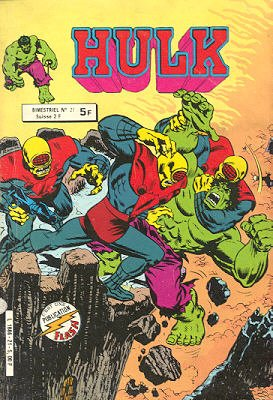 The Incredible Hulk # 21 Kiosque Arédit V1 (1976 - 1983)