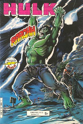 The Incredible Hulk # 22 Kiosque Arédit V1 (1976 - 1983)