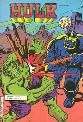 The Incredible Hulk # 23 Kiosque Arédit V1 (1976 - 1983)