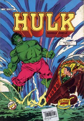 The Incredible Hulk # 3 Kiosque Arédit V3 (1983 - 1985)