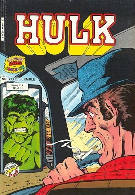 The Incredible Hulk # 4 Kiosque Arédit V3 (1983 - 1985)
