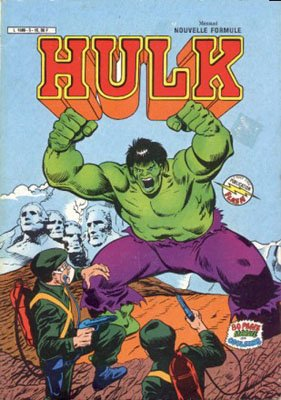 The Incredible Hulk # 5 Kiosque Arédit V3 (1983 - 1985)